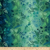 Woodland Wonders Wildflower Ombre Navy