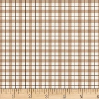 Studio E Loads Of Fun Plaid Taupe