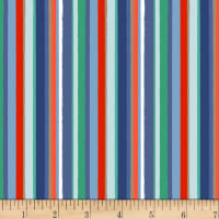 Coastal Dreams Stripe Navy/Red