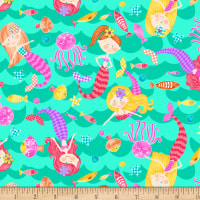 Mermaids Rock Mermaid Toss Aqua