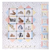 "Maywood Studio Love Is Minky 60"" Panel Multi"