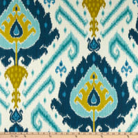 Vilber Ikat Blue/Teal/Green