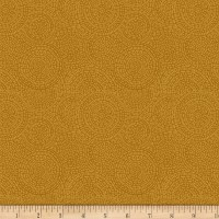 P&B Textiles Bella Suede Wide Medallion Yellow/Orange