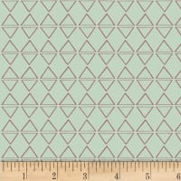 P&B Textiles Rustic Rosettes Diamonds Light Teal