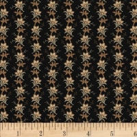 Washington Street Studio Wild Flower Small Stripe Black