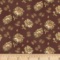 Washington Street Studio Wild Flower Tossed Floral Brown
