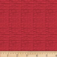 "P&B Textiles/Washington Street Studio 108"" Wide Back Historical Quilt Backs Quilt Red"