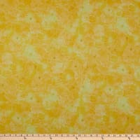 P&B Textiles Majestic Mountains  Flower Texture Yellow