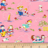 P&B Textiles/Washington Street Studio Playtime Pink