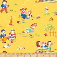 P&B Textiles/Washington Street Studio Playtime Yellow