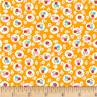 P&B Textiles/Washington Street Studio Playtime Floral Orange