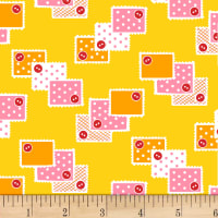 P&B Textiles/Washington Street Studio Playtime Stamps Yellow