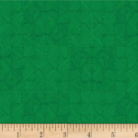 P&B Textiles Toss of Texture Crosshatch Green