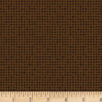 P&B Textiles Toss of Texture DPI Dots Brown