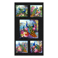 "Elizabeth's Studio Exotica 24"" Panel Black"
