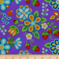 Tucson Beaded Strawberry Purple