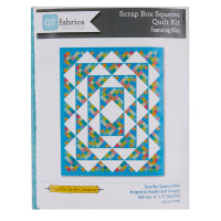 "QT Fabrics Bliss Scrap Box Lap Quilt Kit 61"" x 75"""