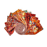 "QT Fabrics Botanica 2.5"" Strips 12 pc Rust"