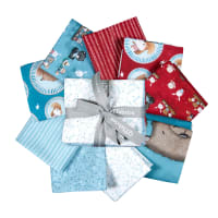 QT Fabrics Campfire Friends Fat Quarter Bundle 9 pc