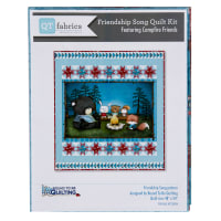"QT Fabrics Campfire Friends Song Quilt Kit 48"" x 52"""