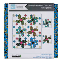QT Fabrics Sashay Pinwheels Quilt and 2 Pillows Kit