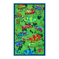 "QT Fabrics Color Me Chameleon Chameleon 24"" Panel Multi"