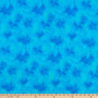 QT Fabrics Color Me Chameleon Cloud Texture Blue