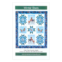 "QT Fabrics First Frost Deer Quilt Kit 44"" x 52"" Blue"