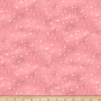 QT Fabrics Digital Warm Wishes Snow Dusty Pink