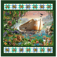 "QT Fabrics Artworks XIV Noah's Ark Quilt Kit 46"" x 50"""