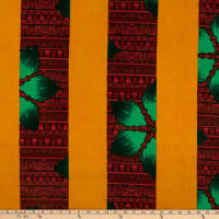 Shawn Pahwa African Print Gwembeshe Red/Yellow
