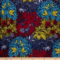 Shawn Pahwa African Print Simphiwe Red/Yellow