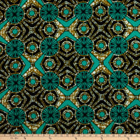 Shawn Pahwa African Print Duduzile Brown/Teal