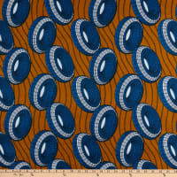 Shawn Pahwa African Print Nomfundo Orange/Blue