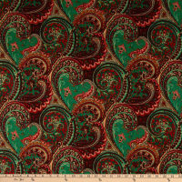 Shawn Pahwa African Print Sthembiso Green/Red
