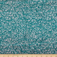 Liberty Fabrics Silk Satin Charmeuse Willow Wood Green