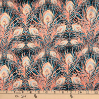 Liberty Fabrics Silk Satin Charmeuse Juno Feather Pink
