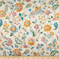 Liberty Fabrics Silk Satin Charmeuse Eva Belle Cream