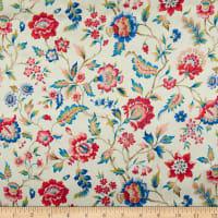 Liberty Fabrics Silk Satin Charmeuse Eva Belle White
