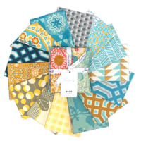 FreeSpirit Mod Fat Quarter Bundle 14 Pcs Multi