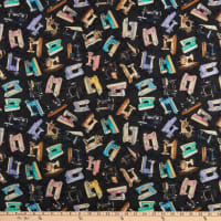 QT Fabrics  Tailor Made Sewing Machines Black