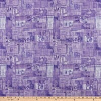 QT Fabrics  Tailor Made Vintage Patches Lilac