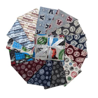Marvel Avengers Fat Quarter Bundle  13 Pcs