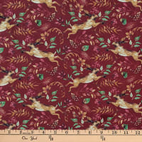 Laura Ashley Fables Hare Burgundy