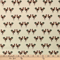 Laura Ashley Fables Cockerel Cream