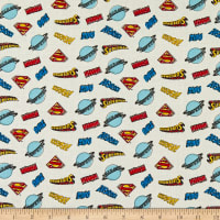 DC Comics Superman Whap Toss in White