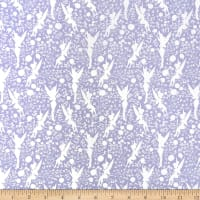 Disney Tinker Bell Silhouettes in Lavender