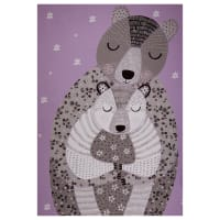 "Camelot Bear Hug Bear Hug 36"" Panel in Purple"