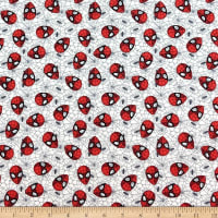 Marvel Spider-Man Web Grey