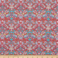 Liberty Fabrics Tana Lawn Strawberry Thief Red